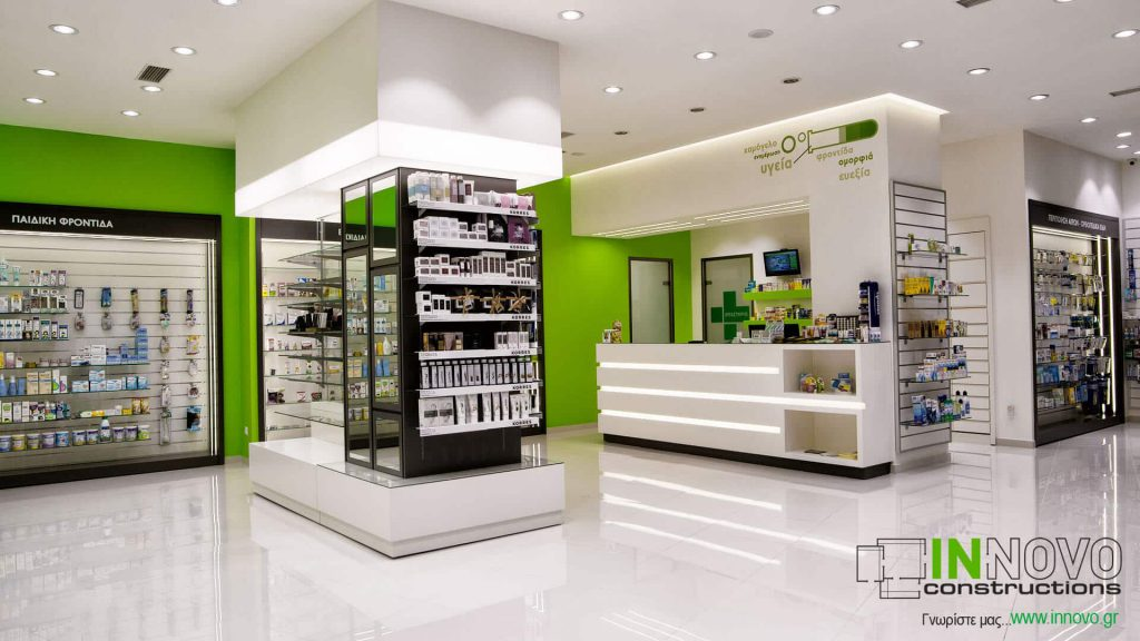 Μελέτη Φαρμακείου , ανακαίνιση φαρμακείου