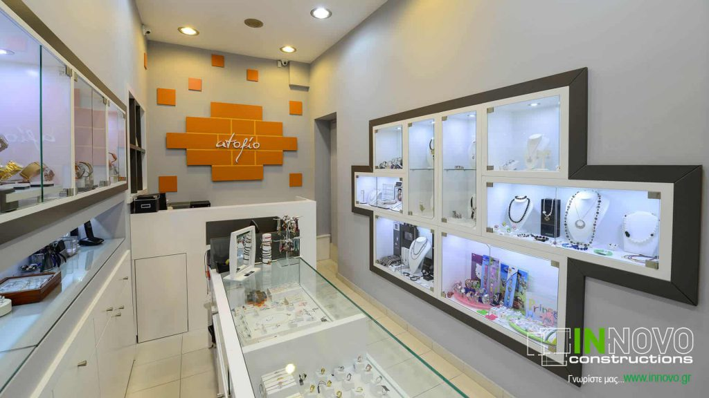 Ανακαίνιση κοσμηματοπωλείου στο Περιστέρι