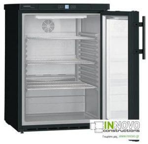 Ψυγείο φαρμακείου Liebherr FKUv 1613 μαύρο