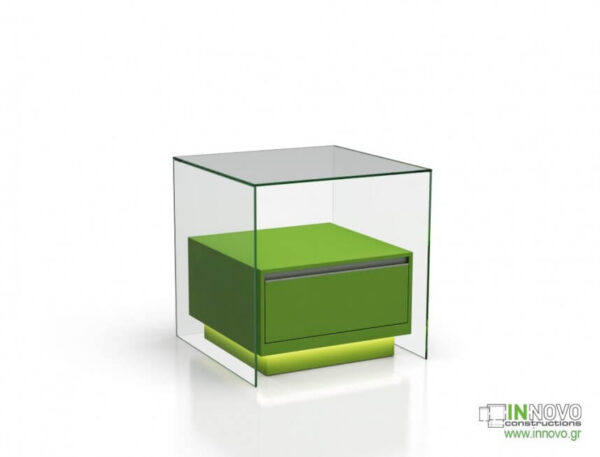 1015 Πάγκος εργασίας C-Lumi Cube A green