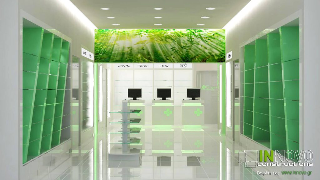 Μελέτη Κατασκευή Φαρμακείου στον Άγιο Δημήτριο από την Innovo Constructions