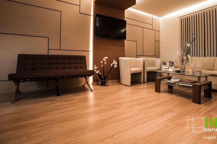 Στο Χαλάνδρι ανακαίνιση και διακόσμηση Πολυϊατρείου από την Constructions