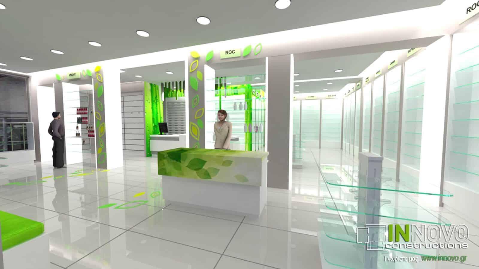 Ανακαίνιση Φαρμακείου στο Νέο Ηράκλειο