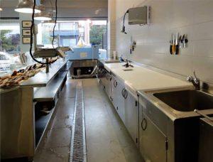 Ιχθυοπωλείο, ανακαίνιση και επαγγελματικός εξοπλισμός